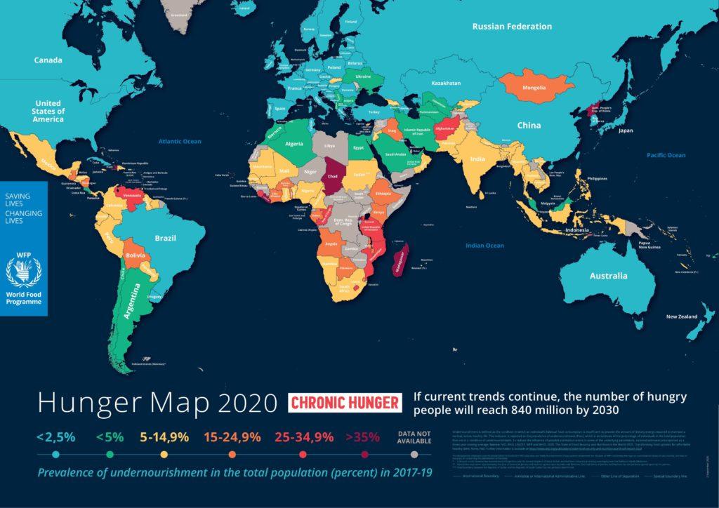 შიმშილის რუკა covid-19